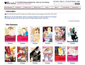 Renta! website